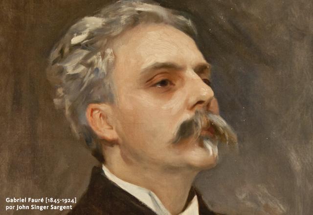 Gabriel Fauré [1845-1924] por John Singer Sargent