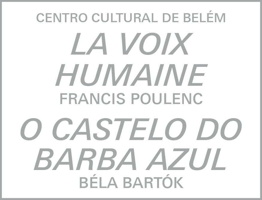 O Castelo de Barba Azul e La Voix Humaine