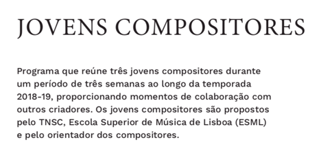 Jovens Compositores