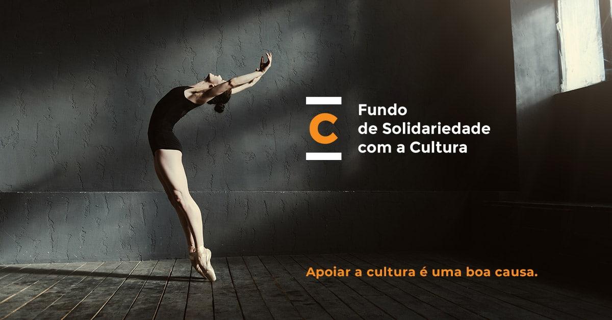 Apoiar a cultura é uma boa causa