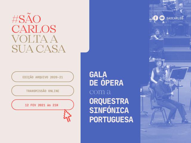 São Carlos Volta a Sua Casa - Gala de Ópera