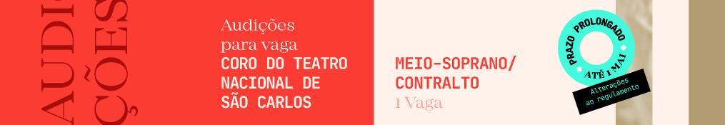 Audições do Coro do Teatro Nacional de São Carlos