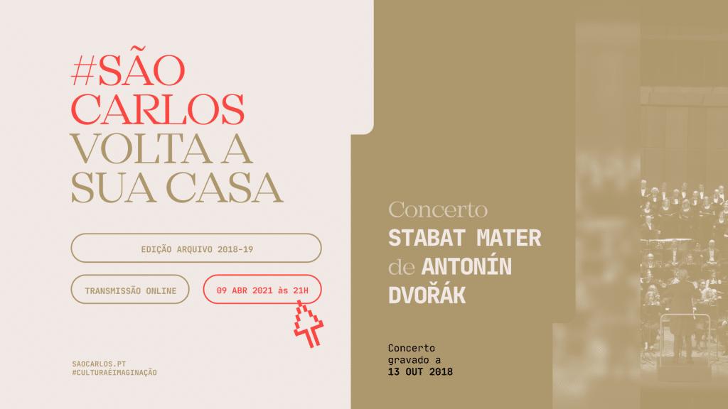 Stabat Mater Antonin Dvorak Teatro Nacional de São Carlos