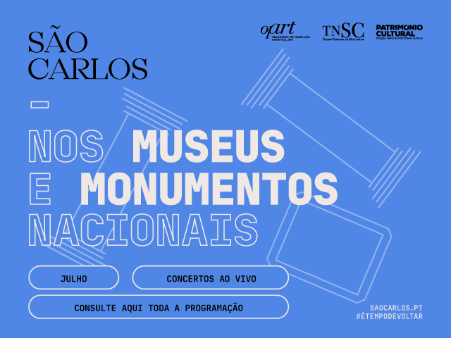 São Carlos nos Museus e Monumentos Nacionais