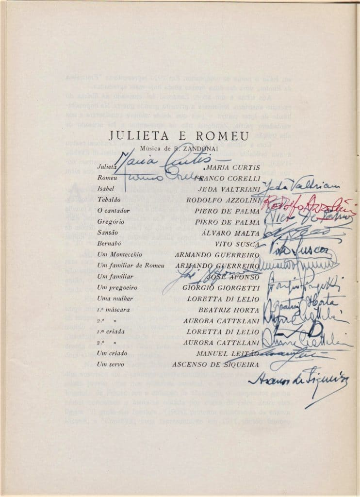 Julieta e Romeu — José Afonso